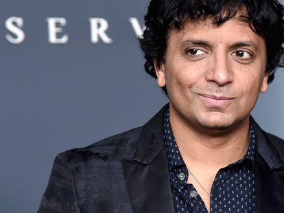 M. Knight Shyamalan en Nueva York en 2019 durante el estreno de 'Servant', la serie que produjo para Apple TV.