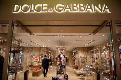 Una tienda de Dolce&Gabbana en Beijing, China, el pasado noviembre.