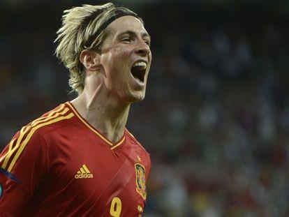 Los goles de España