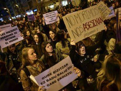 Centenares de miles de mujeres salen a la calle en todo el mundo para clamar contra la violencia de género y por la equiparación de derechos