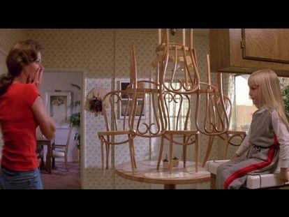 Escena de 'Poltergeist' (1982).