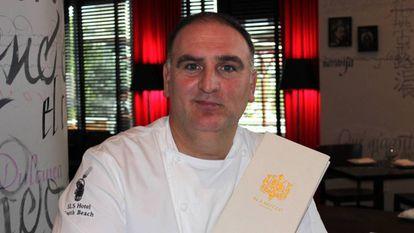 El cocinero José Andrés.