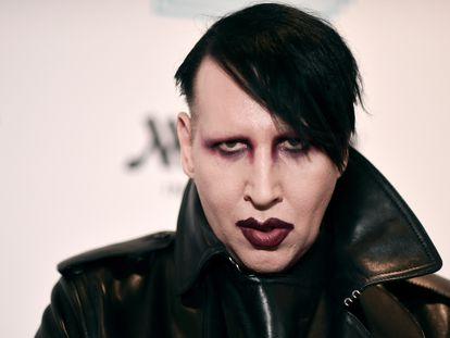 Marilyn Manson, en un concierto benéfico en diciembre de 2019 en Los Ángeles, California.