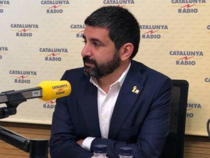 El consejero de Trabajo, Asuntos Sociales y Familias de la Generalitat, Chakir El Homrani, mediador en el conflicto.