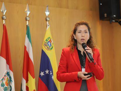 Alexandra Moreira, secretaria general de la Organización del Tratado de Cooperación Amazónica (OCTA).