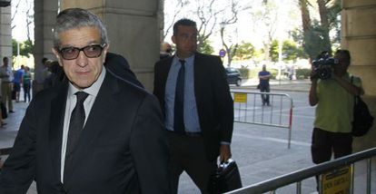Braulio Medel, el 12 de junio de 2014 en los juzgados de Sevilla.