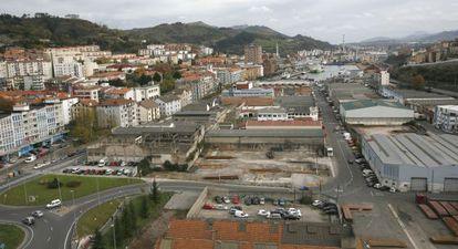 Imagen que presentaba la zona de La Herrera, en Pasaia, cuando se creó Jaizkibia en 2006.