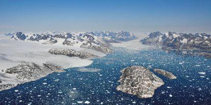 Groenlandia ha perdido 3,8 billones de toneladas de hielo desde 1992.