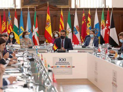 XXI Conferencia de Presidentes Autonómicos, celebrada en San Millán de la Cogolla (La Rioja).