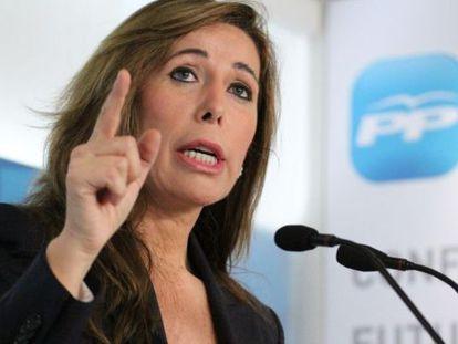 La líder del PPC, Alicia Sánchez-Camacho.