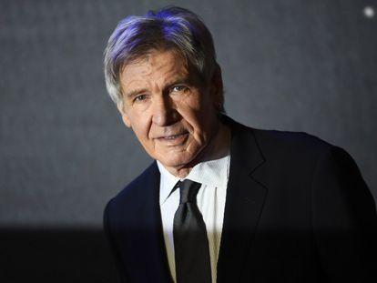El actor Harrison Ford, de 77 años.