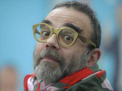 Roberto Enríquez triunfa con sus sermones laicos en  Late Motiv  y cree que lo subversivo hoy es ser feliz