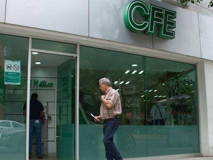 Una oficina de la Comisión Federal de Electricidad en Ciudad de México.
