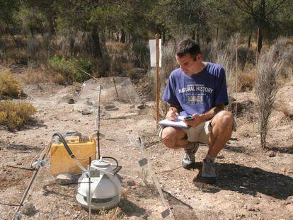 El ecólogo Fernando T. Maestre, investigador distinguido de la Universidad de Alicante.