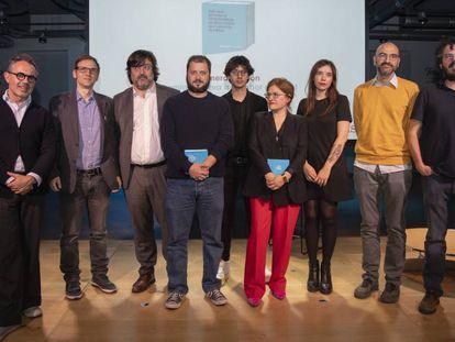 Los galardonados de la primera edición del Premio Librotea.