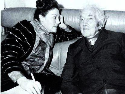 Ava Gardner con Robert Graves en los años sesenta. / Archivo de la familia Graves