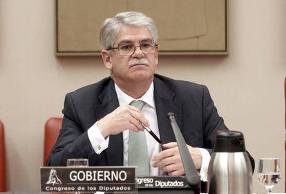 El ministro Alfonso Dastis, en una imagen de archivo.