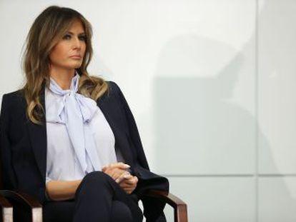 La primera dama, en un gesto inusual, ataca a la prensa y cierra filas con el presidente tras las acusaciones de infidelidad