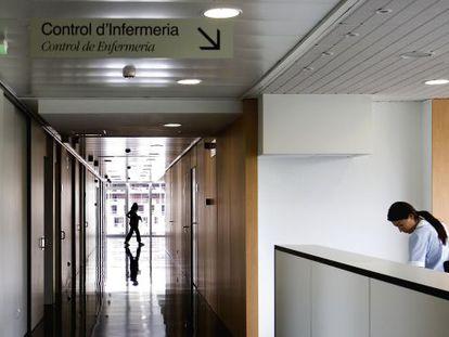 Interior de una clínica privada en Barcelona.