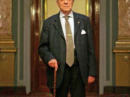 Manuel Fraga Iribarne en el Senado, en una imagen de 2006.