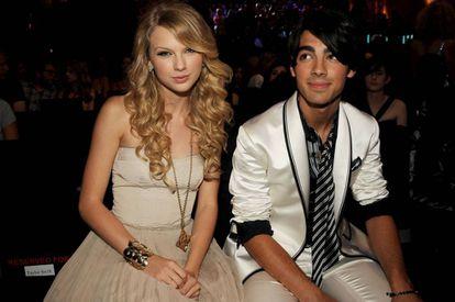 Taylor Swift y Joe Jonas en 2008. A él le dedicó 'Forever and always'.
