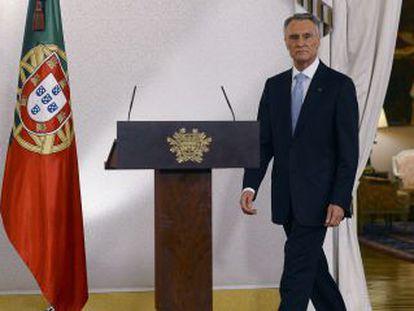 El presidente portugués, Aníbal Cavaco Silva.