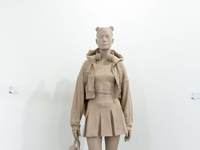 'Ready for it', pieza de Alejandro Monge que puede verse en la feria de arte contemporáneo SWAB.