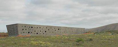 Museo Arqueológico de Zonzamas (Lanzarote), obra de Felipe Artengo y José María R. Pastrana.