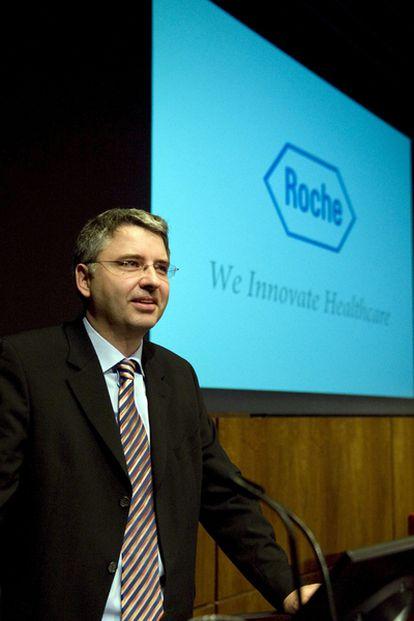 El presidente del grupo suizo Roche, Severin Schwan.