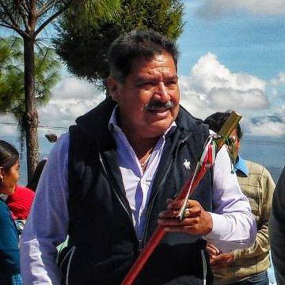 Alejandro Aparicio, el presidente municipal de Tlaxiaco (Oaxaca).