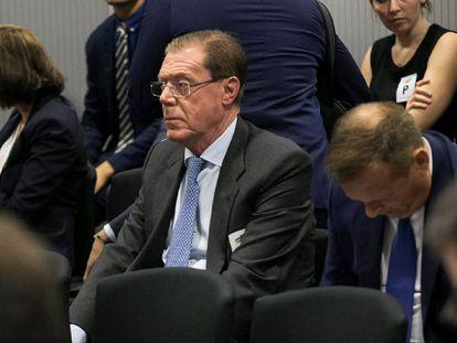 El ex consejero delegado de Banco de Valencia Domingo Parra, en la Audiencia Nacional.