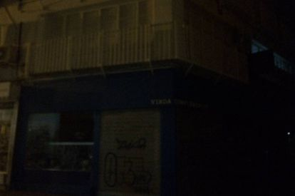Así está el centro de Sevilla. Foto de Emergencias Sevilla.