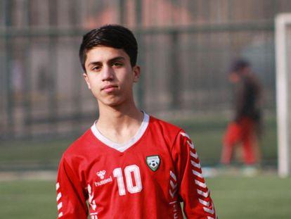 El jugador afgano sub 20, Zaki Anwari.