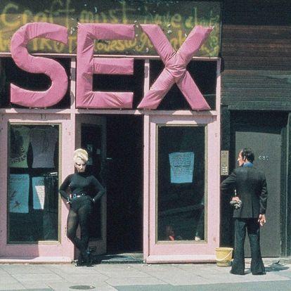 Tienda SEX en Londres.