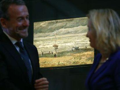 Octave Durham sustrajo en 2002 dos cuadros del pintor holandés del museo del artista en Ámsterdam, que ahora los vuelve a exponer tras pasar por las manos de la Camorra italiana