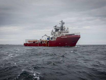 El 'Ocean Viking', el nuevo barco humanitario de las ONG SOS Méditerranée y MSF
