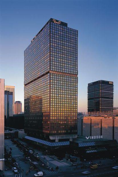Edificio Windsor en Madrid.