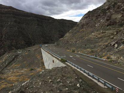 Ruta nacional 150 en la provincia de San Juan, Argentina. M.J. González Rivas/ Banco Mundial