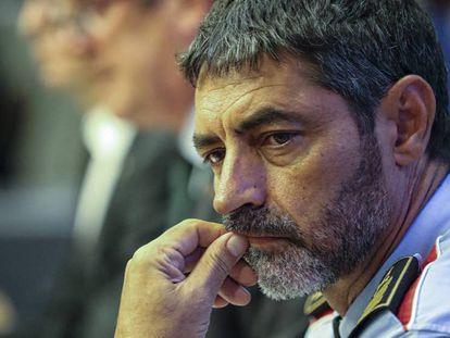 En foto, imagen de archivo del mayor Josep Lluís Trapero, exjefe de los Mossos d'Esquadra. En vídeo, los siete momentos de Trapero en el 'procés'.