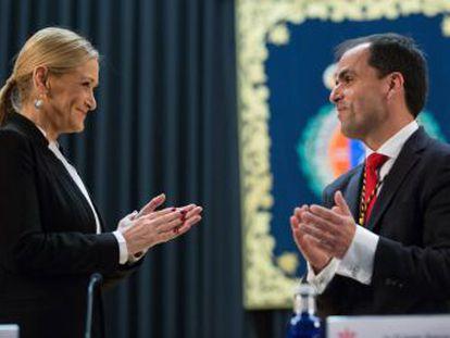 La presidenta regional y el actual rector de la Rey Juan Carlos evitaron abrir investigación tras el escándalo que sacudió al exrector Fernando Suárez