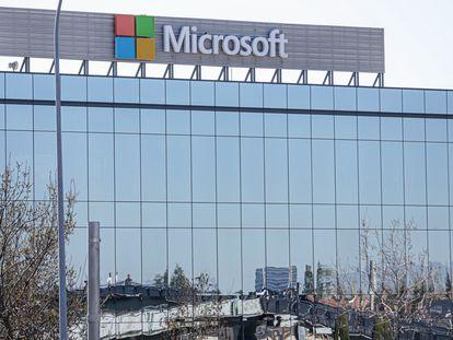 Sede española de Microsoft en La Finca Business Park en Pozuelo de Alarcón, Madrid.