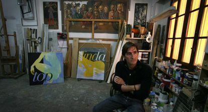 """""""Amb l'arribada de la crisi l'únic que em demanen els galeristes són dones"""", comenta l'artista."""