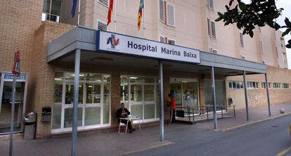 El hospital Marina Baixa (La Vila Joiosa, Alicante) en una fotografía de archivo.