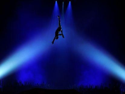 Un momento del Circo de Sol en Londres, en una imagen de archivo.