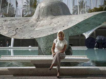 Hortensia Herrero, el pasado jueves en Valencia.