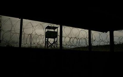 'Camp X-Ray', en Guantánamo, Cuba.