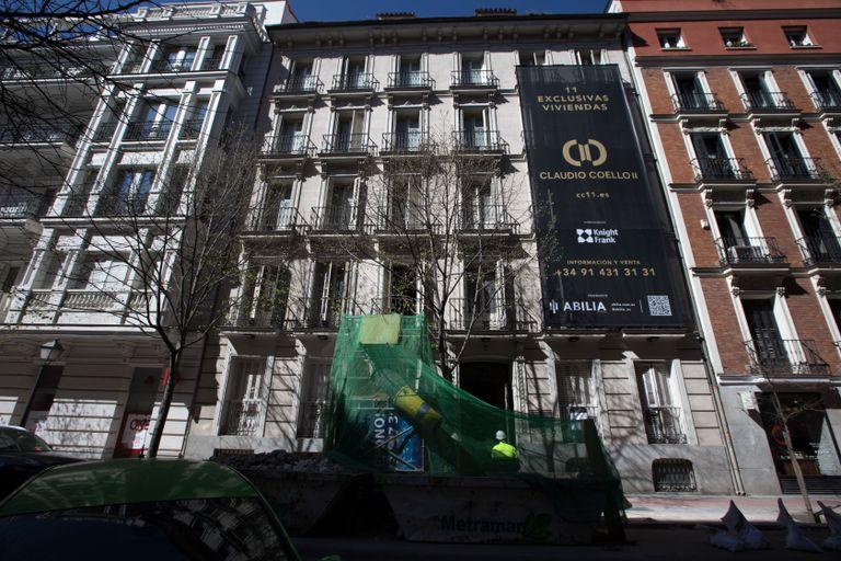 Edificio a Claudio Coello, 11, Madrid, che sarà riabilitato dal gruppo messicano Abilia.