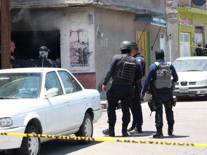 Diversos ataques a viviendas y comercios se registran en Celaya, Guanajuato, la cual se ha convertido en un foco de violencia.