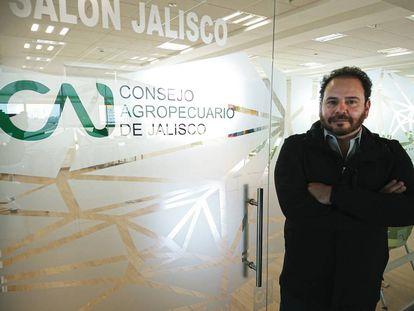 Jacobo Cabrera, presidente del Consejo Agropecuario de Jalisco.
