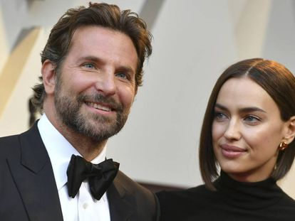 Bradley Cooper e Irina Shayk, en los Oscar de 2019.